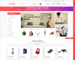 Multi vendor marketplace wordpress theme - buy2aliexpress