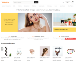 Multi vendor marketplace wordpress theme - buy2esty