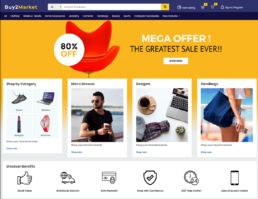 Multi vendor marketplace wordpress theme - buy2amazon