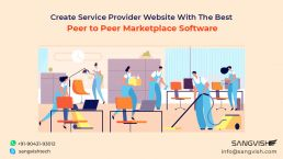 Create Service Provider Website With The Best Peer to Peer Marketplace Software