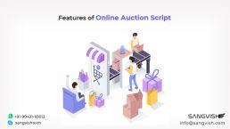 Features of Online Auction Script