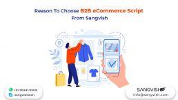 Reason To Choose B2B eCommerce Script From Sangvish